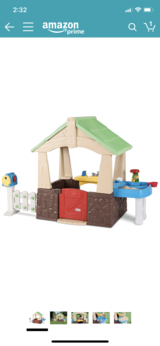 Little Tykes Playhouse with water table in Stuttgart, GE