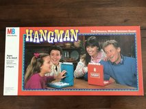 Vintage 1988 Hangman Board Game Milton Bradley Fun Family Game Night in Chicago, Illinois