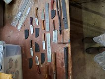 Hand made knives in Clarksville, Tennessee