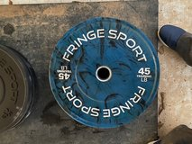 Fringe Weightlifting plates in Leesville, Louisiana
