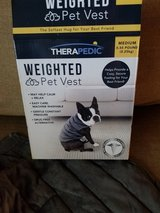 New in box weighted dog vest in Camp Pendleton, California