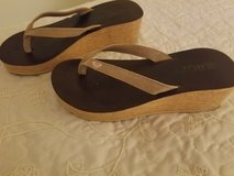 Roxy wedge sandals size 8 in Camp Pendleton, California