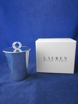 RALPH LAUREN Vows Frames, Candles, Stopper, Napkin Rings, Ice, Wine in Bolingbrook, Illinois