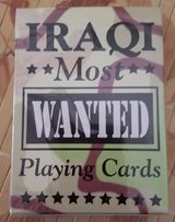 """Iraqi Most Wanted Playing Cards"" Sealed ""NEW"" in Travis AFB, California"