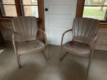 Vintage Lawn Chairs in Yorkville, Illinois