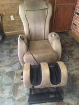Massage Chair with Ottoman in Fort Polk, Louisiana