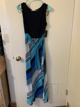 NWT blue teal dress sz 8 in Okinawa, Japan