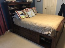 Youth Bed - Double with bookshelf and drawers in Bartlett, Illinois