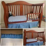 4 in 1 crib and toddler bed. in Travis AFB, California
