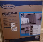 "Suncast BMC3000 Cabinet-Resin Construction for Garage Storage, 30.25"" Organizer Doors & Slate To... in Leesville, Louisiana"