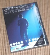 NEW Vintage 1999 Jerry Seinfeld Live On Broadway DVD HBO Comedy in Morris, Illinois