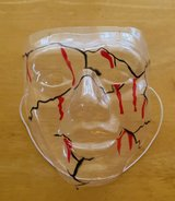 Bloody Face Mask in 29 Palms, California