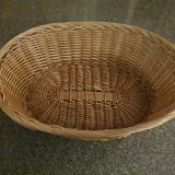 Wicker dog basket in Ramstein, Germany