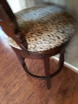 Leopard Swivel Bar Stools in The Woodlands, Texas