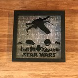 Star Wars and Nightmare Before Christmas Shadow Boxes Artwork in Fairfield, California