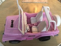 Barbie Pink Jeep in Naperville, Illinois
