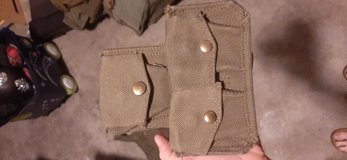 1944 British ammo pouch in Clarksville, Tennessee
