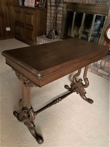 Antique Game Table in Batavia, Illinois