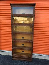 MACEY Barrister Bookcase 6  Section's in Cherry Point, North Carolina