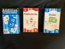 Math Flash Cards in St. Charles, Illinois
