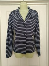 New: Tulchan smokey blue fitted jacket with stretch. Size 14UK. RRP £49 in Lakenheath, UK