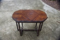 Inlaid Oblong Wooden Table in Warner Robins, Georgia