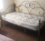 Day Bed with Trundle and Mattresses in Nellis AFB, Nevada