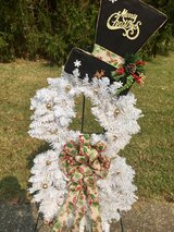 Christmas Snowman Wreath in Fort Knox, Kentucky