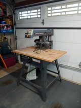 Sears Craftsman 10-inch radial arm saw in Aurora, Illinois