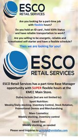 Base Manager in Ramstein, Germany