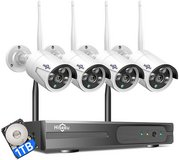 Hiseeu Wireless Security Camera System in Leesville, Louisiana