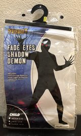 Youth Fade Eyes Shadow Demon Costume, Sz M in Fort Campbell, Kentucky
