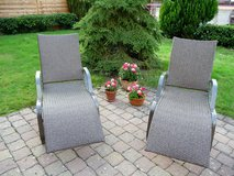 Two Patio Lounge Chairs in Ramstein, Germany