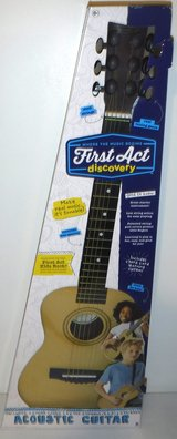 New! First Act Discovery Kid Size Acoustic Guitar in Joliet, Illinois