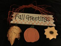 """""""Fall Greetings"""" Charming Sign in Kingwood, Texas"""