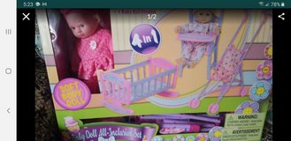 Baby doll all inclusive set new in Batavia, Illinois