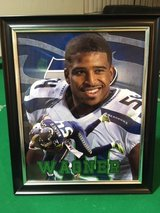 *** SEAHAWKS - Bobby Wagner 8x10 framed Lithograph *** (NEW) in Fort Lewis, Washington