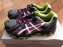 *NEW* Girls Asics running shoes 3 1/2 youth in St. Charles, Illinois