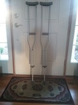 Standard Aluminum Crutches in St. Charles, Illinois
