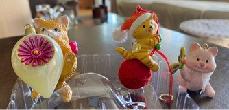 Carlton Cat Ornaments in Aurora, Illinois