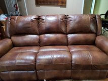Beautiful Ashely Leather Couch in The Woodlands, Texas