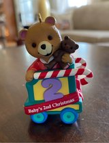 Baby's 2nd Christmas Ornament in Aurora, Illinois
