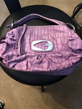 Guess lavender purse in Tinley Park, Illinois