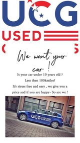 SELL US YOUR CAR ! in Ramstein, Germany
