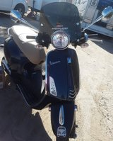 2015 Vespa Scooter in 29 Palms, California