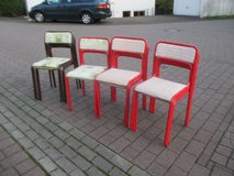 14 stacking (party) chairs in Ramstein, Germany