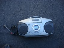 AUDIOVOX CD/CASSETTE7RADIL BOOM BOX in Plainfield, Illinois