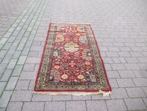 runner, hand knotted in Ramstein, Germany