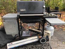 Weber Propane Grill.  works Great in St. Charles, Illinois