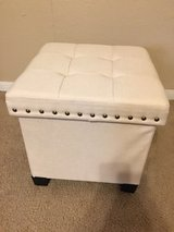 Cube Storage Footstool in Cleveland, Texas